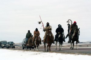 Dakota 38 Riders On the way to Mankato
