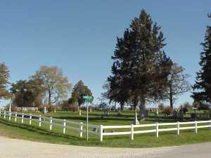 Antioch Cemetery: Rural Clarksville Iowa