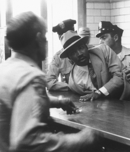 Martin Luther King Jr. Arrested.